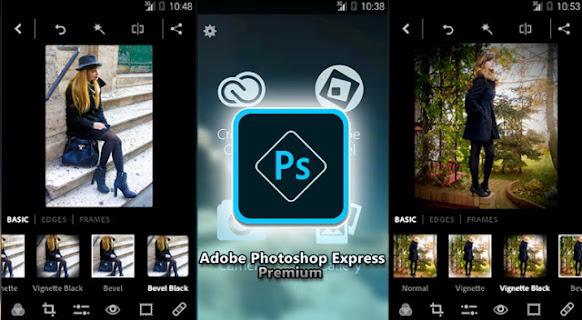 Adobe Photoshop Express Premium Screenshot