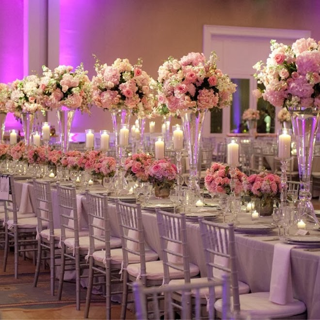 5 Green Wedding Decorations That Will Leave You Speechless: Long Wedding Tables
