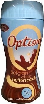 Options Belgian Choc Butterscotch