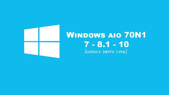 Windows 7, 8.1, 10