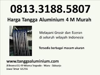 Harga tangga aluminium 4m murah
