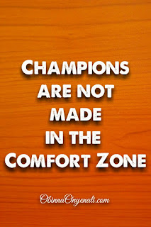 inspirational quote on leaving the comfort zone