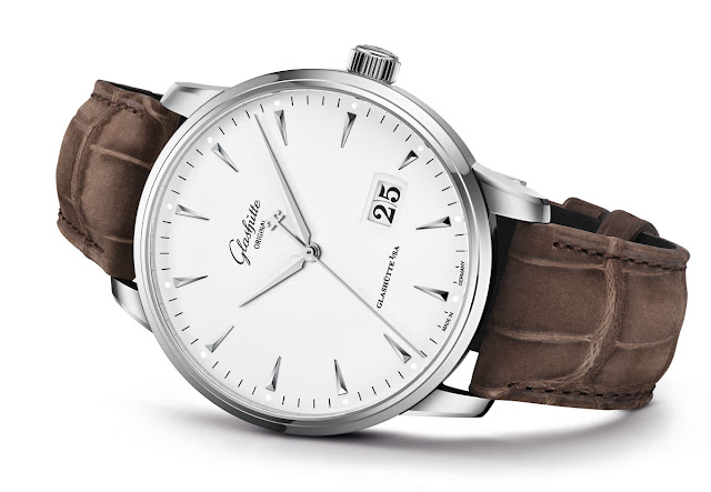 Glashütte Original Senator Excellence Panorama Date with white lacquered dial