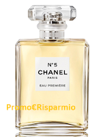 Logo Campione omaggio Chanel n.5: richiedilo ora
