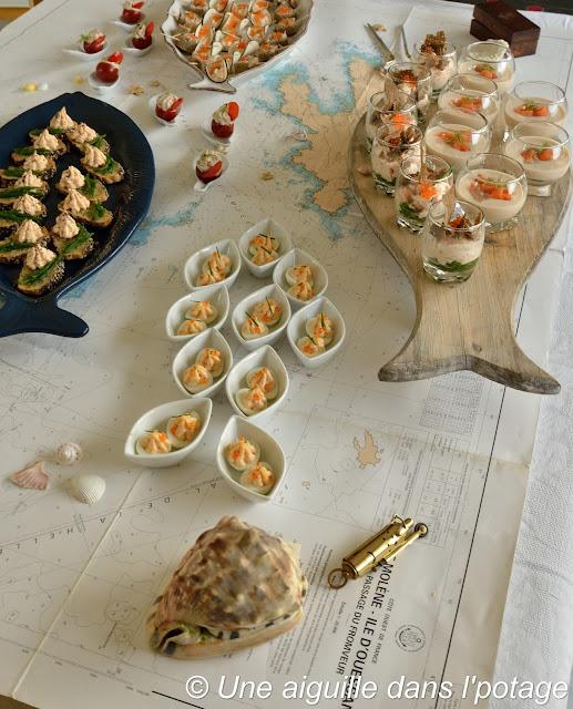 apéritif dînatoire thème marin concours Guyader