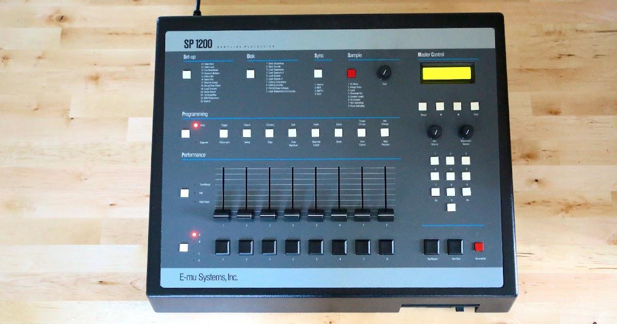 matrixsynth emu sp1200 vintage sampling drum machine sn 109604357. Black Bedroom Furniture Sets. Home Design Ideas