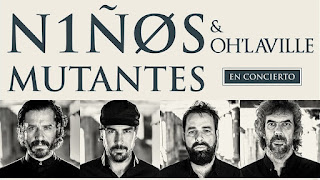 Concierto de NIÑOS MUTANTES y Oh'Laville en Bogotá