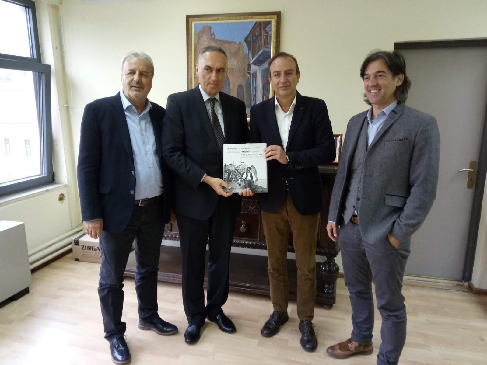 Δήμος Ιωαννιτών:Υποδοχή  αναπληρωτή Πρέσβη της Δημοκρατίας της Κροατίας