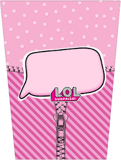 LOL Surprise: Free Printable Candy Bar Labels.