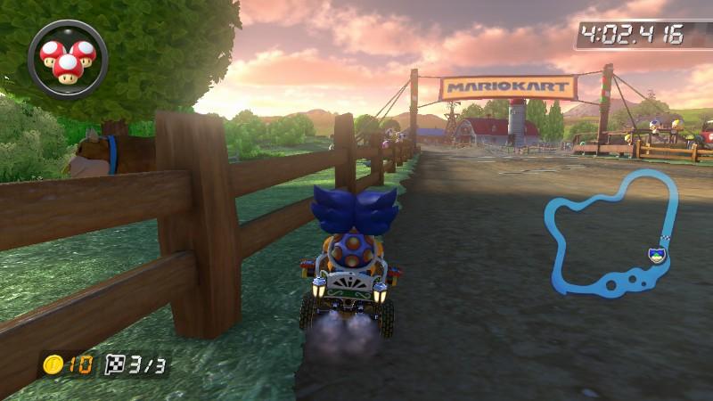 Mario Kart 8 Moo Moo Meadows Mario Kart Wii