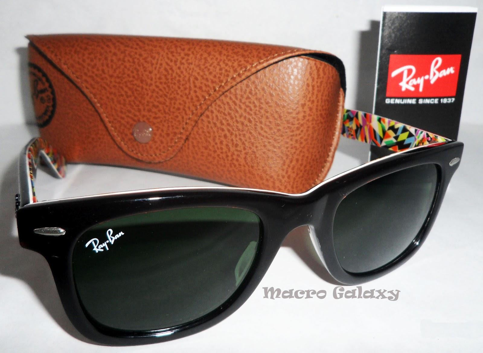 09db8e94df Ray Ban Sunglasses Wayfarer Color Frame Rare Print   Louisiana ...