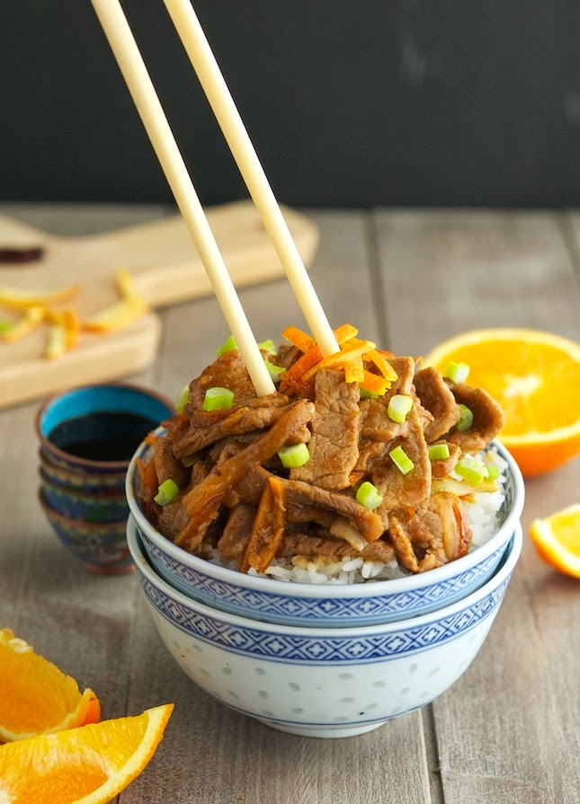 Orange Beef (Low Carb & Gluten-Free)