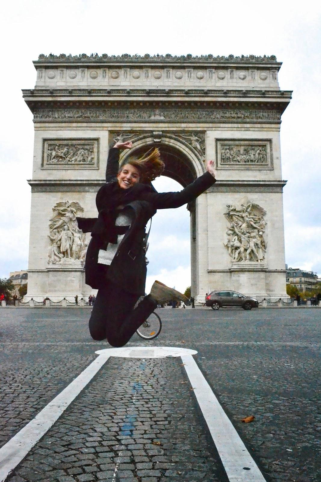 Arco de triunfo, Paris, Francia, guía de viaje