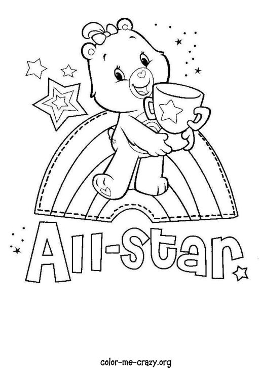 baby care bears coloring pages - photo #32