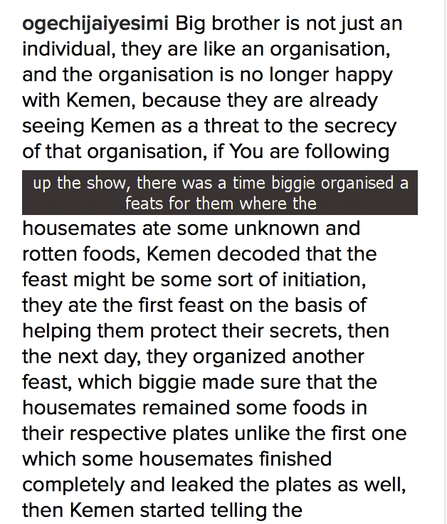 Exposed: Big Brother Nigeria, #BBNaija associated With Illuminati Secret Cult, After Kemen Was Evicted - bb%2Bnaija%2Bsecret%2Bcult