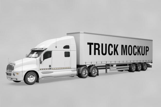 Download 310+ Best Truck Mockup Templates | Free & Premium