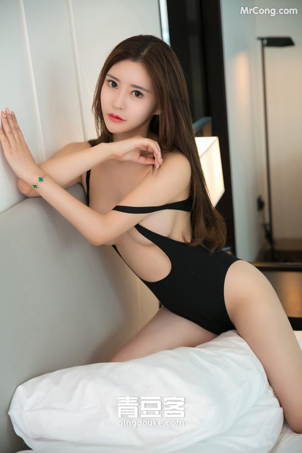 Image QingDouKe-2017-11-12-Tong-Man-MrCong.com-007 in post QingDouKe 2017-11-12: Người mẫu Tong Man (佟蔓) (50 ảnh)