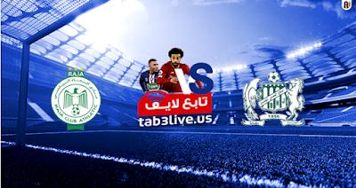 مشاهدة مباراة الرجاء الرياضي والدفاع الحسني الجديدي بث مباشر بتاريخ 27-07-2020 الدوري المغربي