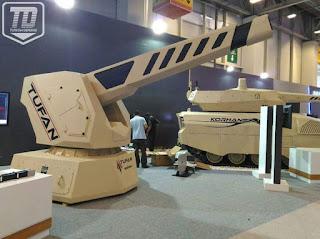 Sistem Senjata Railgun Tufan