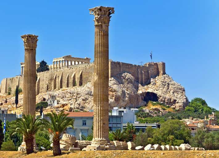 De turismo en Atenas, Grecia