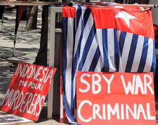 Mantan Presiden Indonesia, SBY Diberi Gelar Dr. Kehormatan, Free West Papua Protes di Darwin