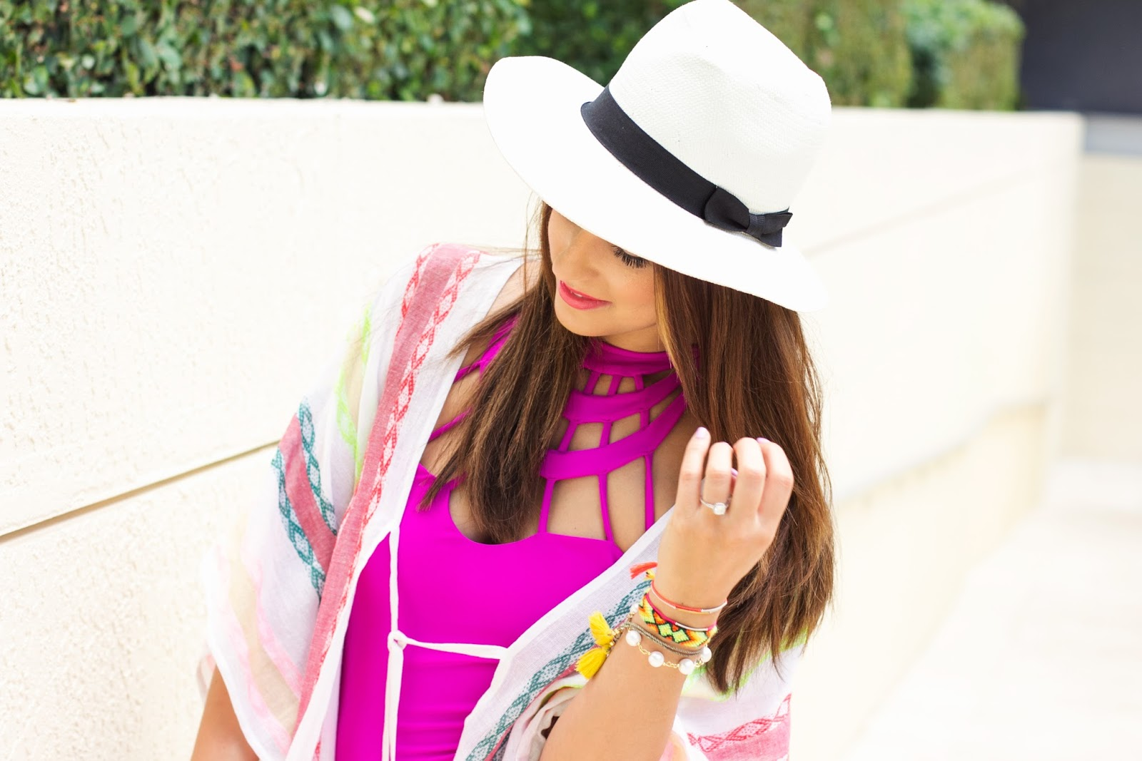 Express Panama Hat and Beach Kimono
