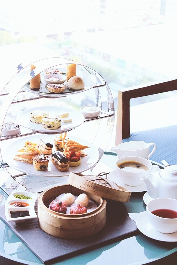 High Tea at Marco Polo Ortigas Manila's Connect Lounge