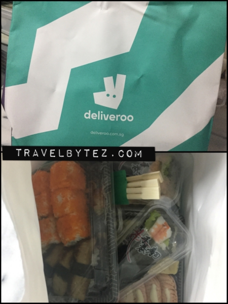 Deliveroo: Ordering Itacho Sushi (Bedok Mall)