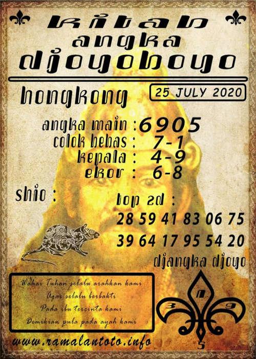 Kode syair Hongkong Sabtu 25 Juli 2020 264