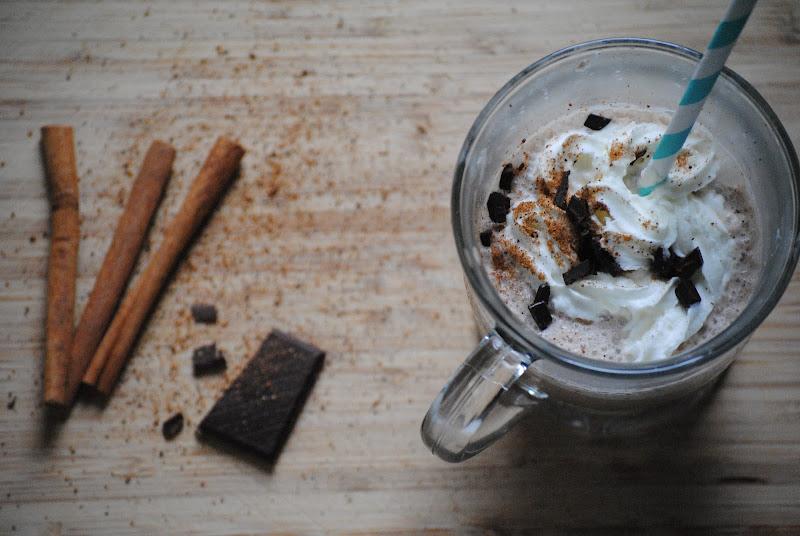 cinnamon mocha frappe recipe