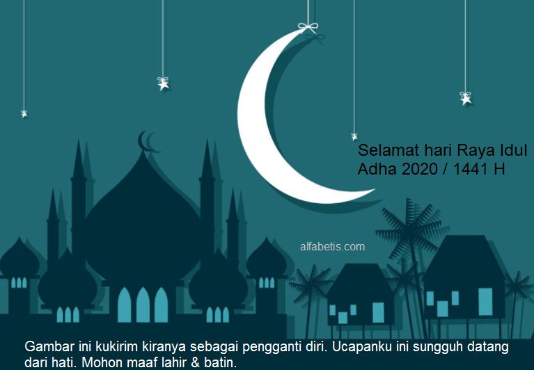 Kartu Ucapan Hari Raya Idul Adha Untuk Silaturahmi