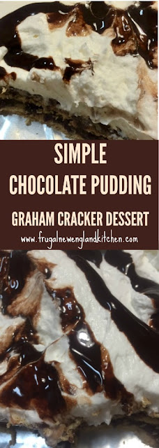 Graham Cracker Pudding Dessert Trifle