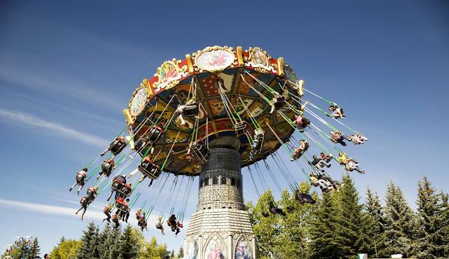Calaway Park em Calgary