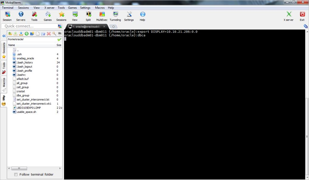 Netsoftmate Technical Blog : Configure Database for DBFS on Exadata
