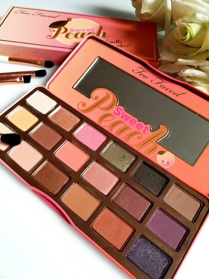 Too Faced - Sweet Peach Eyeshadow Palette 3 Review & Swatches - Madame Keke