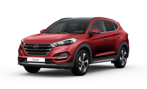 hyundai tucson ultimate red