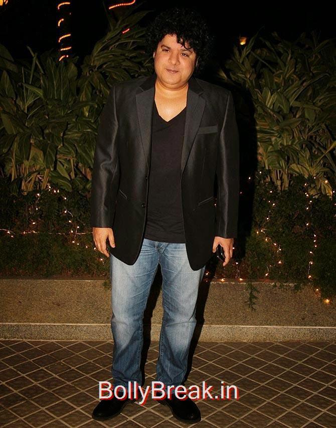 Sajid Khan, Bollywood Celebrities At Farah Khan's GRAND 50th Birthday Party
