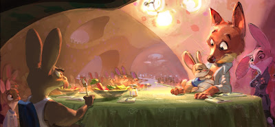 More Zootopia VisDev and Production work...