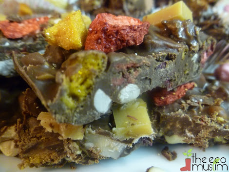 rocky road granola bar recipe