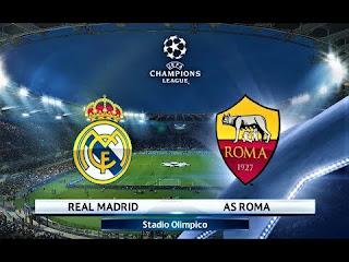 مباراة ريال مدريد ضد روما مباشر