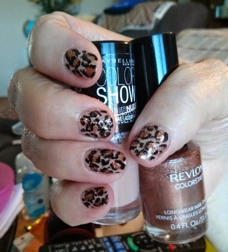 My Nail Art Journey Leopard Print Nail Art Design