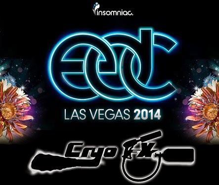 EDCLV 2014 Presents CryoFX - Electric Daisy Carnival Las Vegas 2014