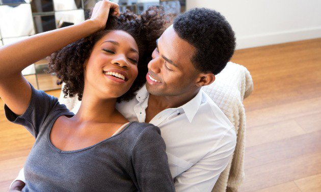 black lovers in a relationship