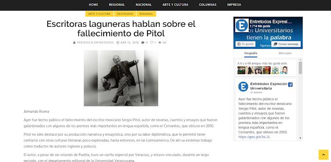 Un breve comentario sobre un libro fundamental de #SergioPitol: El arte de la fuga