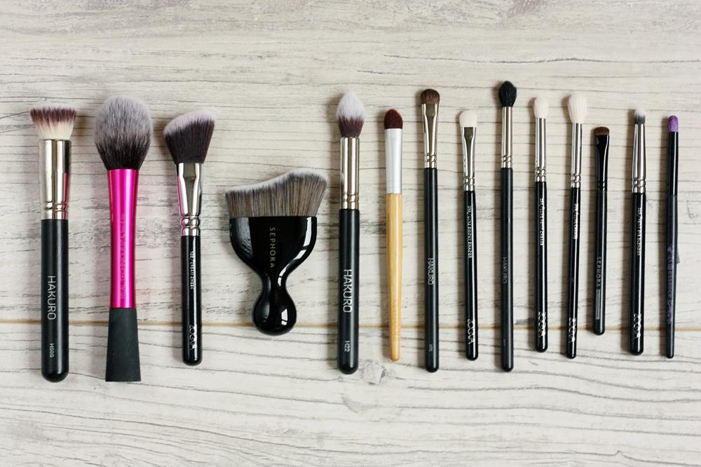 Pędzle, bez których nie wyobrażam sobie makijażu - Hakuro, Zoeva, EcoTools, Essence, Sephora