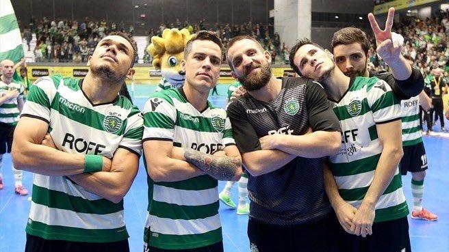1cd47046c9 O Sporting deslocou-se ao reduto do Burinhosa em jogo a contar para a 22ª  jornada da Liga Sport Zone e obteve uma tranquila vitória por 7-3