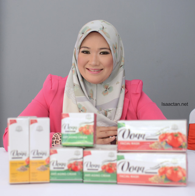 DS Pesona Beauty spa and saloon owner and founder of Voqq, Datin Nur Samsidar Mohd. Zain