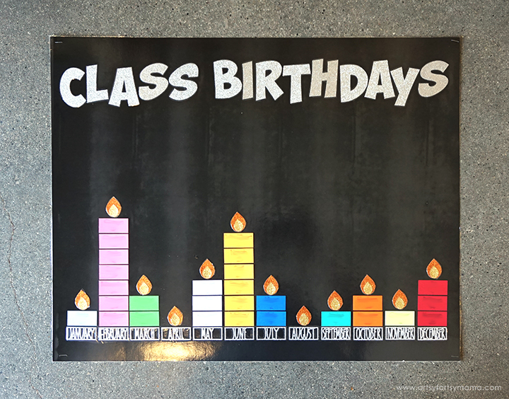 DIY Classroom Birthday Board