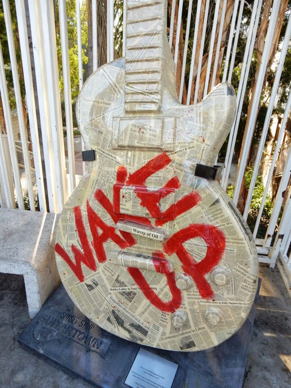 Wake Up Rage Against the Machine guitar Demetra Karras