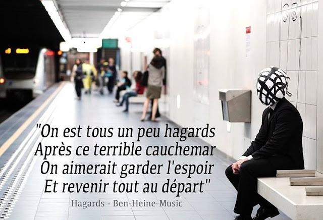 Chanson Française de Ben Heine - Hagards - 2016